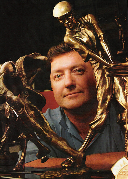 Malcolm Demille and his trophy designs created using Geomagic Freeform