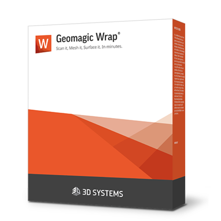 Software di scansione Geomagic Wrap 3D